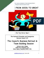 HRDCS-Union Council Team Retreat-Final Report-6-25-08 Rev#2