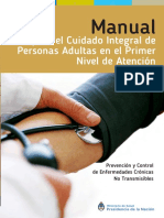 Manual Para El Cuidado Integral de Personas Adultas