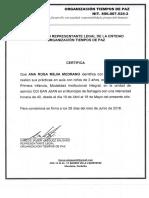 certificacion anita