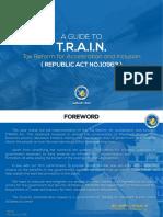 A Guide to Train Ra10963