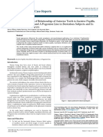 A Cephalometric Study of Relationship of Anterior Teeth to Incisive Papillamucolabial Reflections and Apogonion Line in Dentulous 2471 8726 1000137