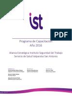 Programa Capacitación IST 2016