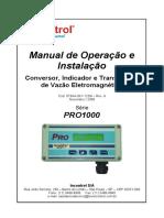 Manual Vazao 123