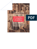 Maria Rosa Cutrufelli - Complice Il Dubbio