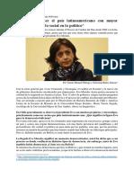 Entrevista a la socióloga María Teresa Zegada