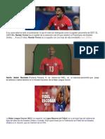jugadores de la  selección de panamá