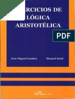 Gambra-Oriol-Ejercicios de Logica Aristotelica