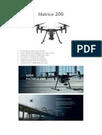 Drones Especificaciones