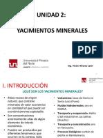 4.0 Yacimientos Minerales-unidad II