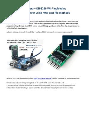 Arducam-Mini With ESP8266 Wi-Fi is Amazing | Hypertext Transfer
