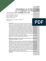 19 Adaptaciones Metodologicas en El Aula de Lengua Extranjera Para El Alumnado Con Discapacidad Intelectual Leve_Estudio de Caso