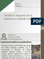 Unidad 3 - Impactos de La Minería en El Medio Ambiente