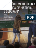 Conteúdo e Met. Geografia e História