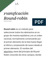Planificación Round-robin - Wikipedia, la enciclopedia libre.pdf