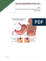 Ingrijirea Bolnavului Cu Ulcer Gastro-duodenal