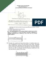 Lista de Exrecícios 7 - Problemas de Elasticidade Linear - Torção e Mecânica