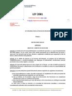 2081 Policia Neuquen Ley Organic A