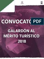 Galardón Mérito Turístico 2018