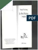 Le Petit Nicolau - Voyage