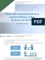 Desarrollo Primera Infancia y Niñez (0 a 10 AÑOS)