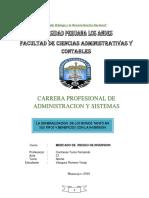 Todo Sobre Bonos en El Peru - Trabajo Final de Inversiones