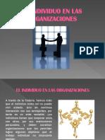 El Individuo y Las Organizaciones II