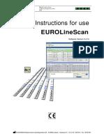 Manual EUROLineScan