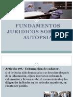 Fundamentos Juridicos Sore La Autopsia