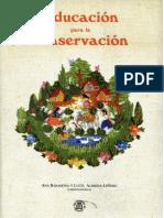2005 Barahona, A. Libro - Educación Conservación