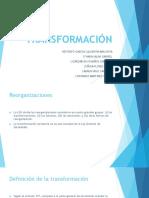 DERECHO COMERCIAL III (SOCIEDADES II)  - Transformación