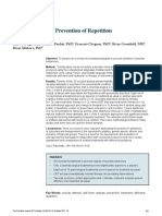 Suicide Attempts Prevention of Repetition - Review Paper