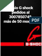 Casio G shock pedidos 3007850748.pdf