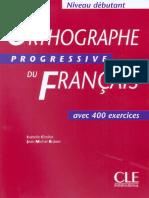 Orthographe progressive du français (débutant) (1).pdf