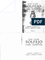 WILLEMS Solfejo Curso Elementar