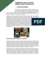 Asentamientos de Culturas Mesoamericanas en Morelos