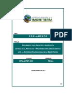 Reglamento registro y adscripcion RES ADM N° 02 APMT