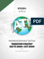 Estrategias para Transitar a IATF