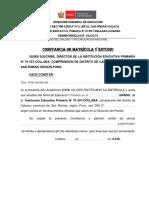 Iep. 70557 Constancia de Estudios