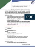 Guía General Para Presentación de Trabajos Cientificos