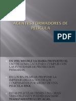 Agentes Formadores de Pelicula