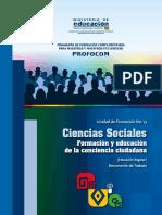 CIENCIAS SOCIALES PROFOCOM