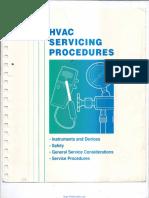 Hvac Servicing Procedures Handbook
