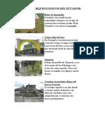 Sitios Arqueologicos Del Ecuador 3333