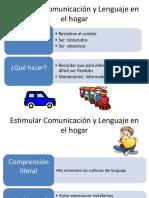 Estimular Comunicación y Lenguaje en El Hogar