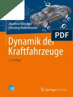 Dynamik Der Kraftfahrzeuge, 5th Ed (2014)_Manfred Mitschke;Henning Wallentowitz