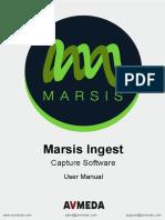 Marsis Ingest User Manual v152