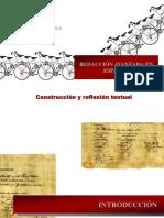 Construcción y reflexión textual