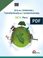 Registro de Emisiones y Transferencia de Contaminantes RETC Perú