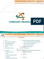 Avidus Engineering Company Profile 1