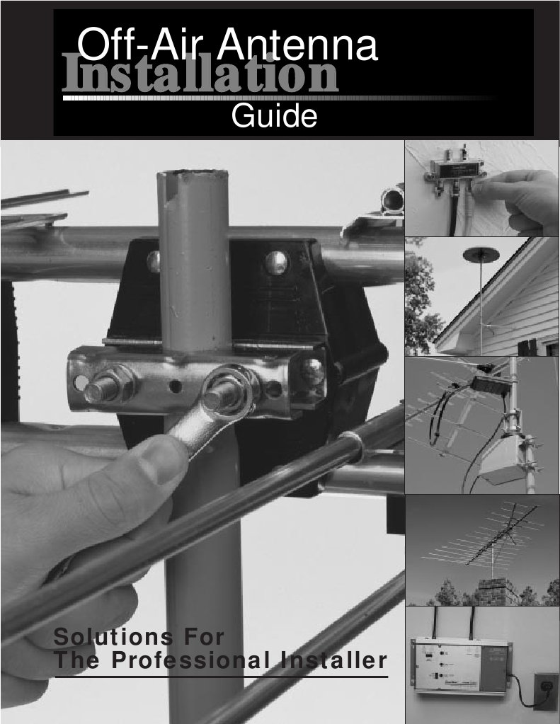 channel master antenna installation guide very high frequency